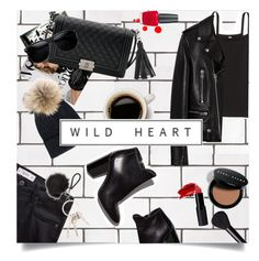 """""""Wild Heart"""" by brynhawbaker ❤ liked on Polyvore featuring Bela, Chanel, MANGO, Yves Salomon, ZeroUV, Yves Saint Laurent, Belkin, Pierre Hardy, Bobbi Brown Cosmetics and Urban Decay"""