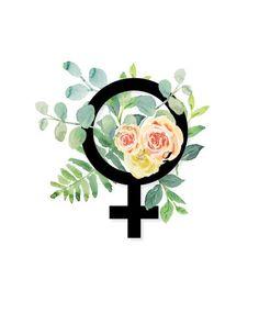 Feminist tattoo design ideas 12 - We Otomotive Info Feminist Tattoo, Feminist Art, Feminist Symbols, Feminist Icons, Feminist Quotes, Fff Logo, Symbole Tattoo, Lawyer Gifts, Illustration