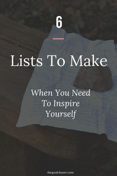 Wanting to inspire yourself? Here are 6 simple but effective lists to make - they will help you gain perspective, boost your confidence and motivate you. Motivation tips. Self Development, Personal Development, Affirmations, Bullet Journal How To Start A, Self Motivation, Business Motivation, Quotes Motivation, Business Quotes, Happiness