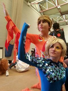 Blades of Glory: Chazz Michael Michaels and Jimmy Macelroy Halloween Couples Costumes... This website is the Pinterest of costumes