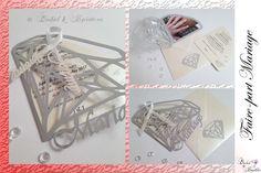 Faire-part Mariage, Fait-main. Thème Diamant Bobby Pins, Hair Accessories, Handmade, Diamond, Hair Accessory, Hair Pins, Hairpin