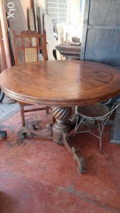 Antique Round Table For Sale For Sale Philippines   Find 2nd Hand (Used)  Antique