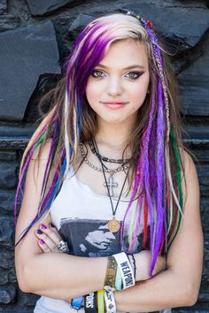 Purple Hair Color (PHOTOS)