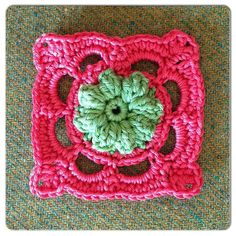 Homely Blanket Square no.17,  free pattern by Made with Loops.Thanks so for share xox