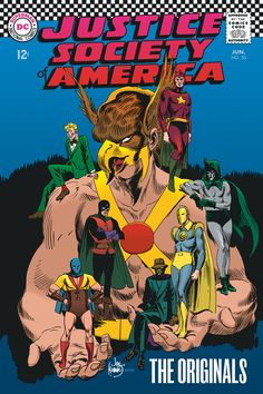 Justice Society of 1940 | Hawkman and The Justice Society of America by Joe Kubert | Catspaw ...
