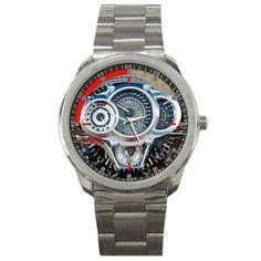 Fans Harley Davidson Custom V Rod Muscle Speedometer Sport Metal Watch Men Sport