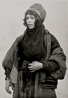Bedouin woman from Syria, 1893. By Edouard Aldahdah. Visit www.rumisgarden.co.uk to shop for our crafts.  #Islam #Sufism #Spirituality #Mysticism #God #Religion  #Allah