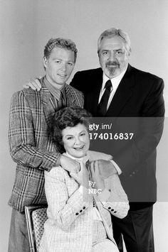 Barbara Hale/Della Street with son William Katt and Raymond Burr/Perry Mason Perry Mason Movies