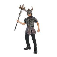 Nordic Warrior. Waan jezelf in de tijd van de Noormannen en Vikingen en verkleed je met dit stoere Noorse krijger pak.