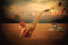 Surrealism, Giraffe, Digital Art, Animals, Animais, Animales, Animaux, Animal, Giraffes