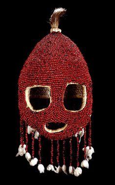 Nigeria - Angas Dance Society Mask (British Museum) Nigeria Angas people mid-20th century