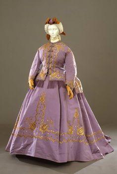 Fripperies and Fobs - Robe à transformation, 1867  From the Galleria del Costume di Palazzo Pitti via Europeana Fashion