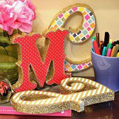 Mark Montano: Trash To Treasure Marquee Letters!