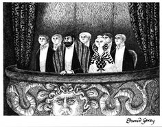 One can never have too much Gorey.