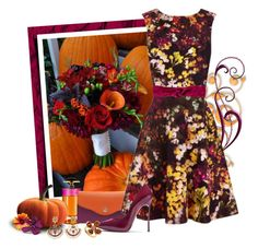 """""""Autumn Bouquet"""" by love-n-laughter ❤ liked on Polyvore featuring Prada and Casadei"""