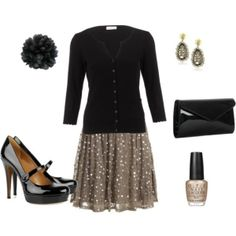 Love the skirt and shoes. by AislingH