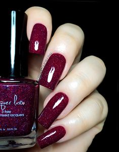 NEW from Lacquer Lust : Black Cherry