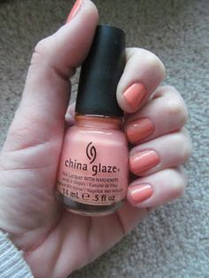 NOTW: China Glaze Peachy Keen