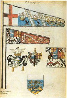 Funereal Certificate for Sir John Spencer 1599