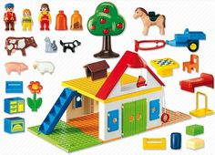 Φάρμα Playmobil:  ένα παιδικό δώρο με αέρα εξοχής! Cool Toys, Baby Toys, Nerf, Kids Rugs, Amazing Toys, Home Decor, Decoration Home, Kid Friendly Rugs, Room Decor