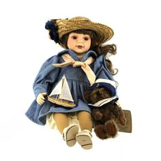 Boyds Bears Resin Betsy...Sail Away Collectible Doll