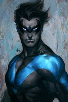 Nightwing! I love this artwork!