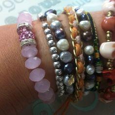 #pulsera de jade rosa Dlola´s  info@dlolas.com
