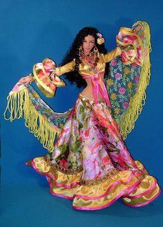 Gipsy Doll | Doll artist Larisa Isayeva