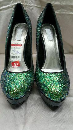 New Rachel Roy womens shoes green 8.5 m MSrp 99.00 #RachelRoy #Stilettos #Fashion