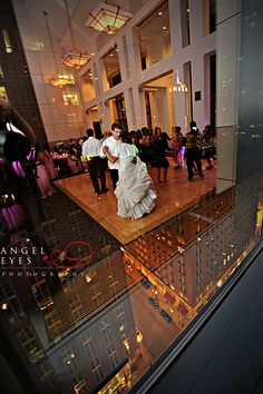 Kasbeer Hall at the Loyola University Water tower Chicago wedding photography