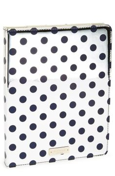 Spotted! Super cute Kate Spade iPad folio.