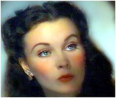 *Vivian Leigh ... Gone With the Wind, one of my all time fav's.....what a beautiful movie star.  Not many classy stars like her these days.