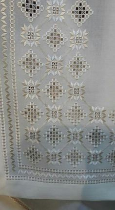 Hardanger Embroidery This post was discovered by Se Hardanger Embroidery, Folk Embroidery, Learn Embroidery, Embroidery Stitches, Embroidery Patterns, Cross Stitches, Broderie Bargello, Bordado Popular, Drawn Thread