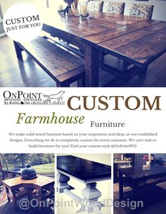 Here's some inspiration on what @OnPointWD can do for you. Everything we do is completely custom for every customer. We can't wait to build furniture for you!#biggreenegg #patiotable #biggreeneggtable #handcrafted #handmade #OnPointWD