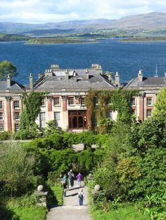 Bantry House in County Cork, Ireland.