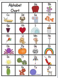 Alphabet Activities: Make An Emergent Reader Alphabet Booklet; Use As  Pocket Chart Cards, Cut Up As Puzzles To Be Placed In A Center.