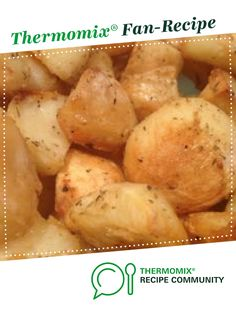 Recipe Best Roast Potatoes Ever by Fun Fatty foods, learn to make this recipe easily in your kitchen machine and discover other Thermomix recipes in Main dishes - vegetarian. Gf Recipes, Vegetarian Recipes, Recipies, Cooking Recipes, Perfect Roast Potatoes, Main Dishes, Side Dishes, Roast Dinner, Recipe Community