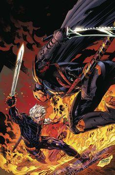 Deathstroke vol 4 Deathstroke Comics, Deathstroke The Terminator, Batman City, Batman And Superman, Dc Comics Art, Marvel Dc Comics, Comic Books Art, Comic Art, Book Art