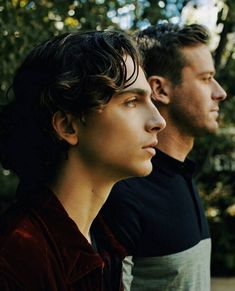 Timothee Chalamet and Armie Hammer