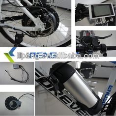 1000w electric bike conversion kit with LCD display/geared hub motor kit /5 minutes diy electric bike kits $290~$400