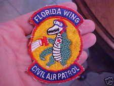 Vietnam Era Florida Wing Civil Air Patrol Patch / Uniform Removed