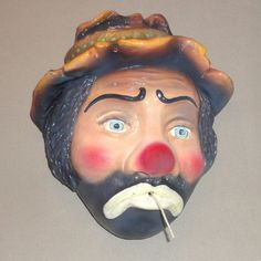 Vintage Emmet Kelly, Jr. (the Clown) String Holder