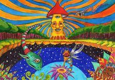Lord of the shrooms by Acid-Flo.deviantart.com on @DeviantArt