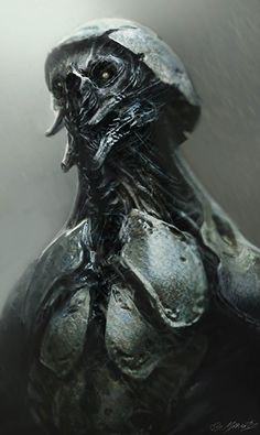 Aliens Concept Art - Guardians of the Galaxy