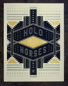 Hold Your Horses / curtis jinkins