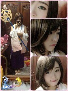 Chân dung Nguyễn Thanh Huyền – cô gái được coi là Yuna của cộng đồng yêu thích Final Fantasy tại Việt Nam.  >> Tạo hình giống nhân vật game