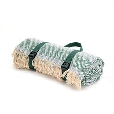Picture of Recycled wool picnic rug