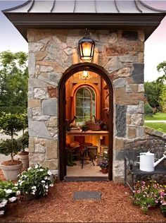 Stone Potting shed.
