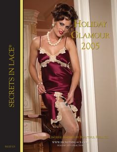 Secrets In Lace Catalog Cover - Holiday 2005