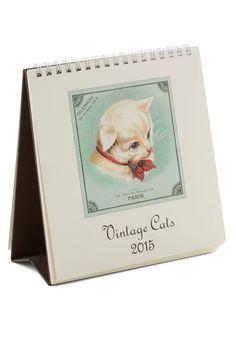 Olde Tyme Felines 2015 Calendar